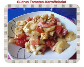 Salat: Kartoffel-Tomatensalat mit Mexican touch - Rezept