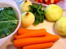 Kohlrabi mit Karotten in Kräutersoße - Rezept