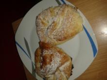 Die besten Schoko Pfirsich Taschen - Rezept