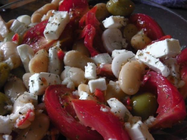 Mediterraner Bohnensalat - Rezept - Bild Nr. 2