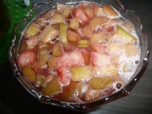 Rhabarber - Erdbeer - Kompott - Rezept - Bild Nr. 3