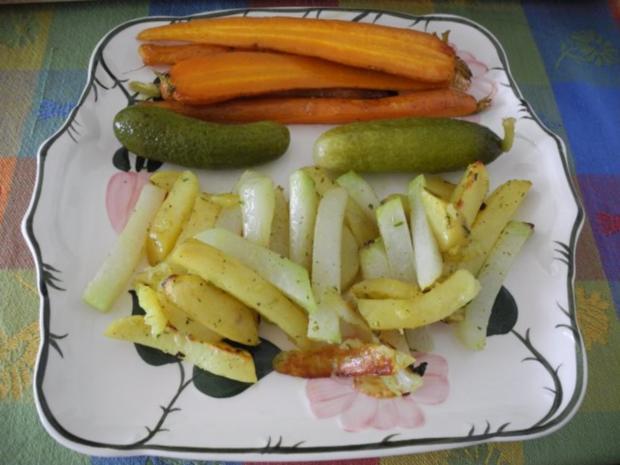 Gemüse aus dem Backofen - Rezept
