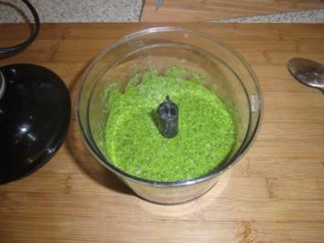 Rezept: Rucola Pesto