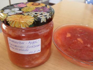 Rezept: Vierfrucht-Marmelade