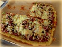 Kloßteig-Pizza - Rezept