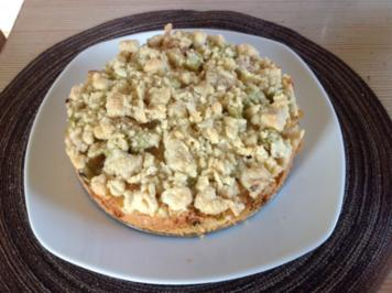 Mini-Rhabarber-Apfel-Kuchen - Rezept