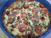 Spargel - Tomaten - Tarte - Rezept
