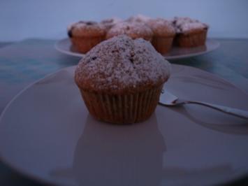 Mohn- Heidelbeer- Muffins - Rezept