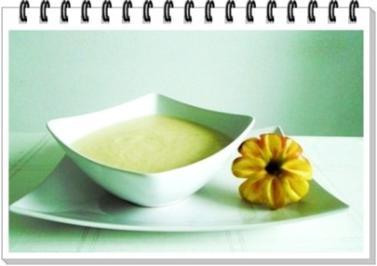 Apfel-Sellerie Cremesuppe - Klassisch zubereitet - Rezept