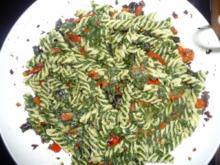 Pasta mit Spinat in pikanter Sauce - Rezept