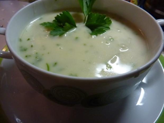 Suppen: Spargelsuppe - Rezept