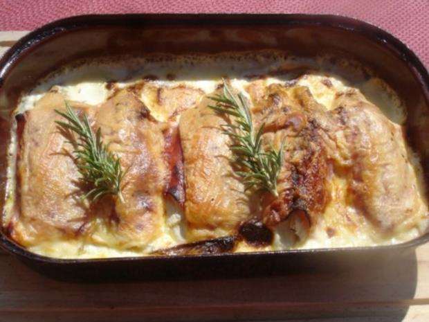 Chicorée gebacken - Rezept