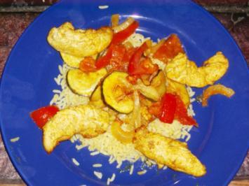 Curryhähnchen aus dem Ofen - Rezept