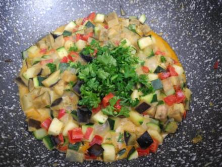 Vegan aus dem Wok : Gemüse - Wok an Cocossahne - Rezept