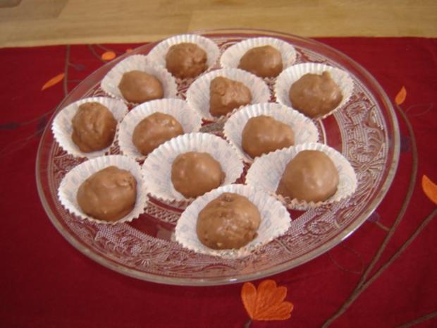 Schokopralinen A La Ferrero Rocher