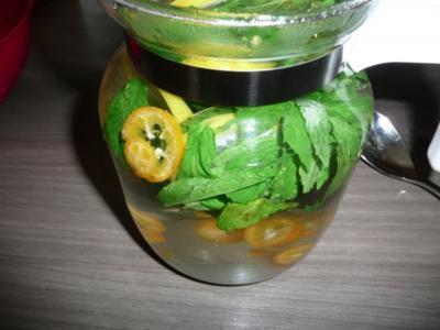Fruchtiger Pfefferminztee - Rezept