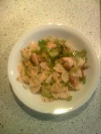 warmer Nudelsalat mit Hähnchenbrustfilet - Rezept - Bild Nr. 4