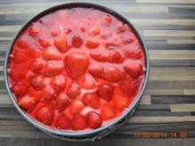 Doppeldecker Erdbeertorte - Rezept