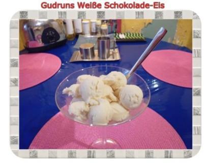 Eis: Weiße Schokolade-Eis - Rezept