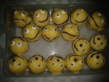 Cake Pops im Waffelbecher - wenns schnell gehen muss ! - Rezept