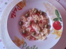 Pasta Tomate-Mozarella - Rezept