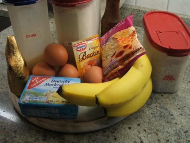 Backen: Bananen-Schoko-Ring - Rezept - Bild Nr. 2