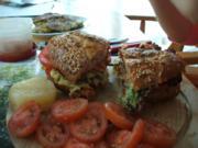 "Brot: Veggie-Burger ""Nina"" - Rezept"