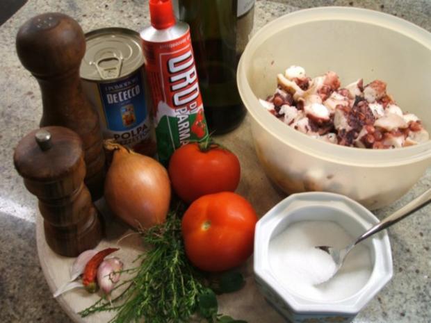 Fisch: Sepia in Tomatensoße - Rezept - Bild Nr. 7
