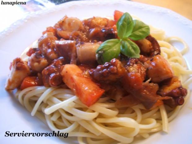 Fisch: Sepia in Tomatensoße - Rezept - Bild Nr. 2