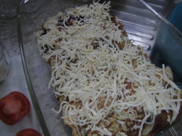 Pfannkuchen mit Schinken-Käse-Füllung - Rezept - Bild Nr. 4