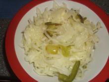 Fertiger Krautsalat verfeinert - Rezept