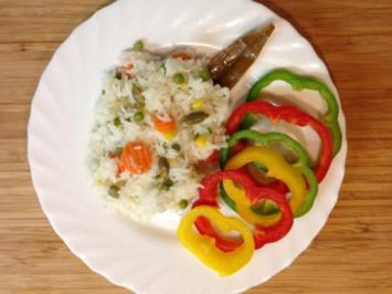 Buntes indisches Reis - Rezept