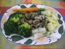 Vegan : Gesunder Teller - Rezept