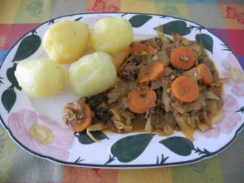 Vegan : Paprika - Kraut - Pfanne - Rezept