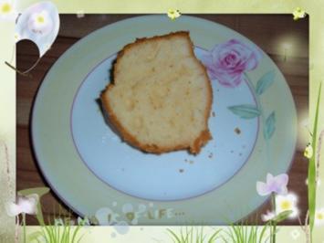 Kuchen : Quark - Zitrone - Rezept
