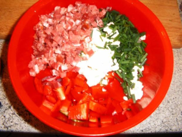 Radieschen-Gurkensalat - Rezept - Bild Nr. 4
