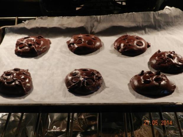 Triple Chocolate Cookies - Rezept - Bild Nr. 2