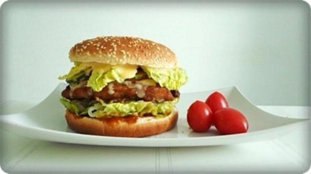 XXL- Burger mit saftigem Minuten Steak - Rezept - Bild Nr. 2