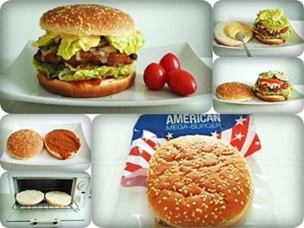 XXL- Burger mit saftigem Minuten Steak - Rezept - Bild Nr. 3