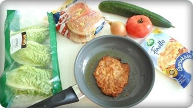 XXL- Burger mit saftigem Minuten Steak - Rezept - Bild Nr. 4
