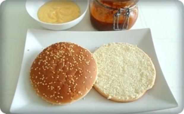 XXL- Burger mit saftigem Minuten Steak - Rezept - Bild Nr. 6