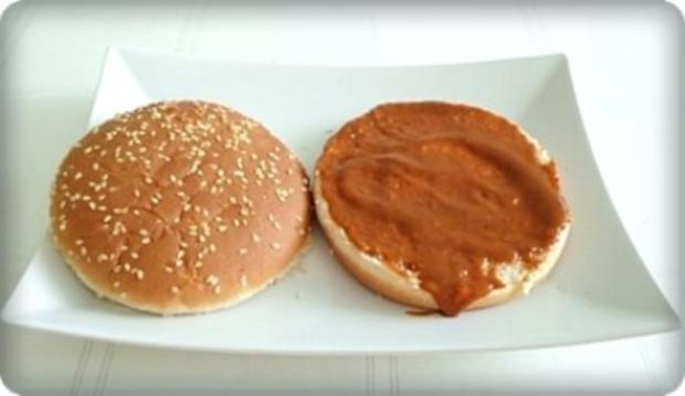 XXL- Burger mit saftigem Minuten Steak - Rezept - Bild Nr. 7