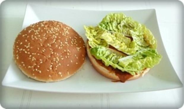 XXL- Burger mit saftigem Minuten Steak - Rezept - Bild Nr. 8