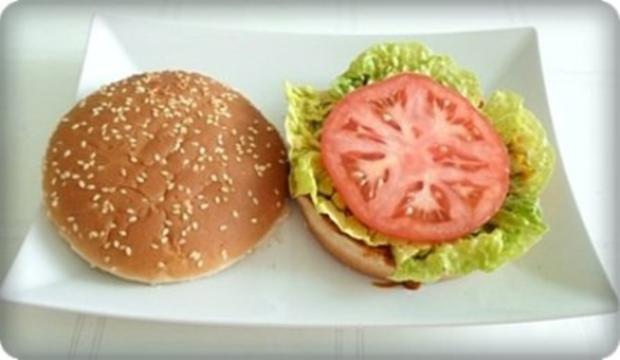 XXL- Burger mit saftigem Minuten Steak - Rezept - Bild Nr. 9