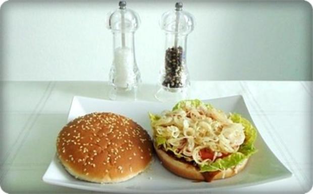 XXL- Burger mit saftigem Minuten Steak - Rezept - Bild Nr. 10