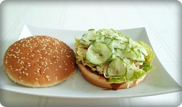 XXL- Burger mit saftigem Minuten Steak - Rezept - Bild Nr. 11
