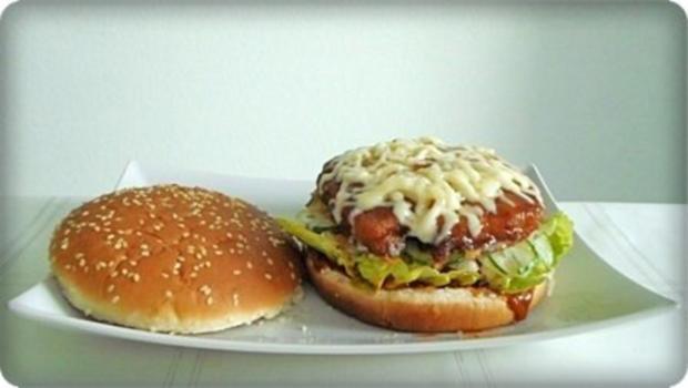 XXL- Burger mit saftigem Minuten Steak - Rezept - Bild Nr. 13