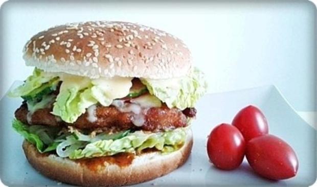 XXL- Burger mit saftigem Minuten Steak - Rezept - Bild Nr. 17
