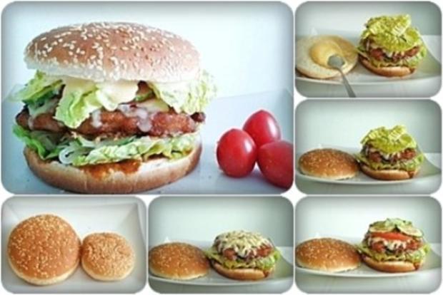 XXL- Burger mit saftigem Minuten Steak - Rezept - Bild Nr. 18