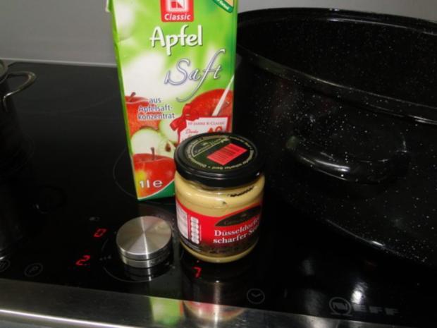 Spitzkohlrouladen mit Hack-Zwiebel-Masse mit Kapern in der Füllung mit Gewürzgurken - Rezept - Bild Nr. 11